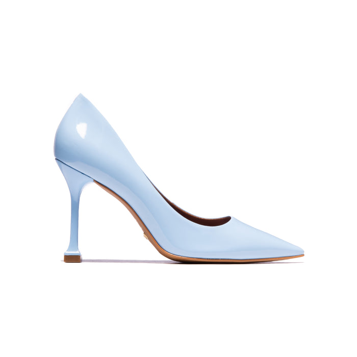 Trinity Light Blue Patent Leather