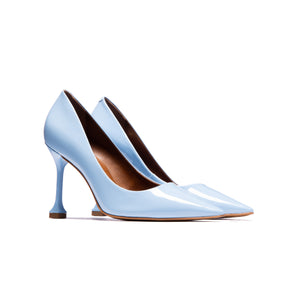 Load image into Gallery viewer, Trinity Light Blue Patent Leather