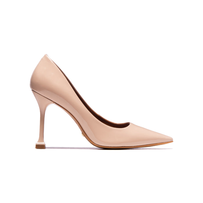Trinity Nude Patent Leather