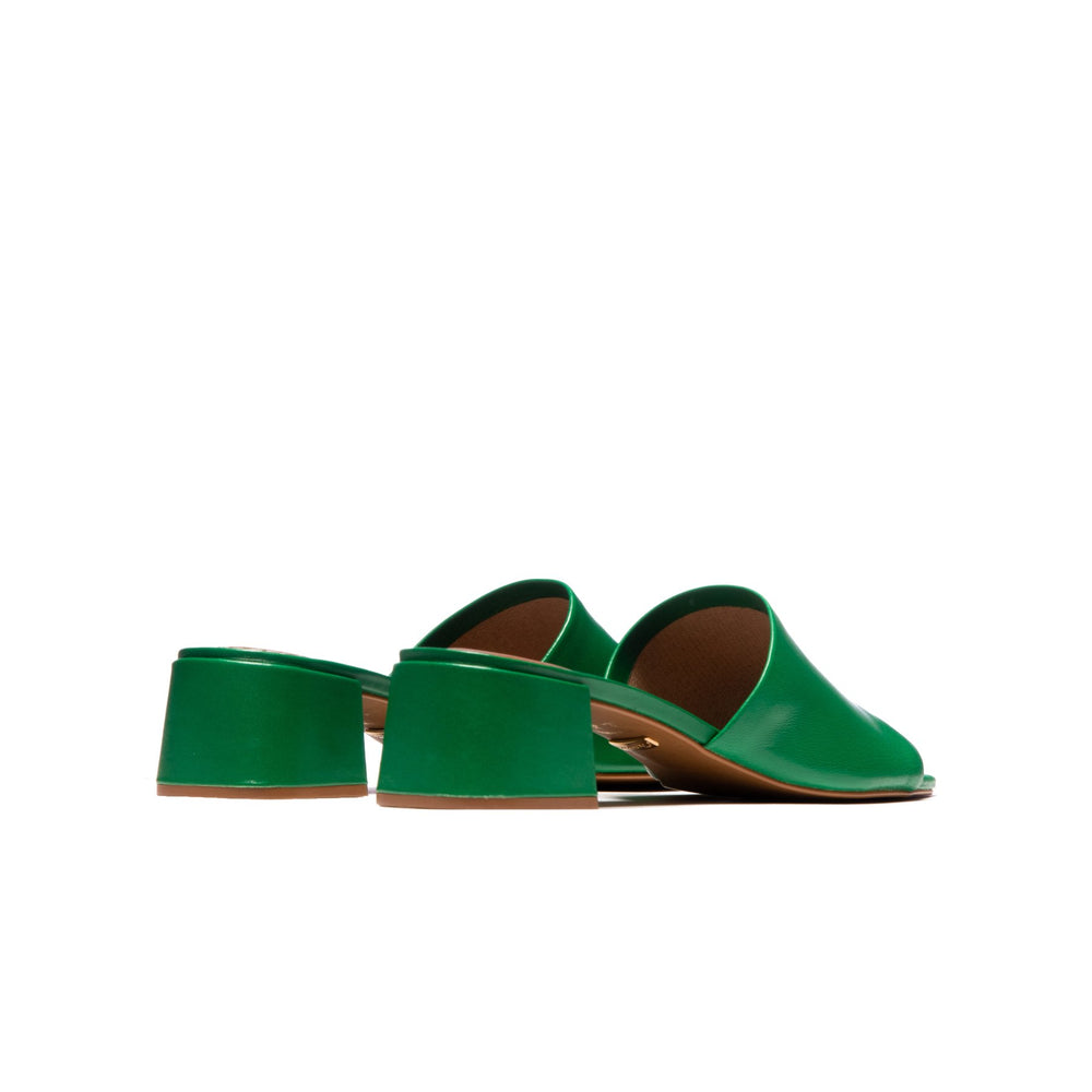 Fortunata Green Leather