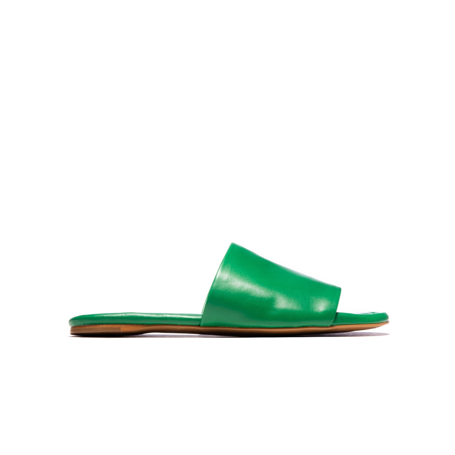 Lupe Green Leather