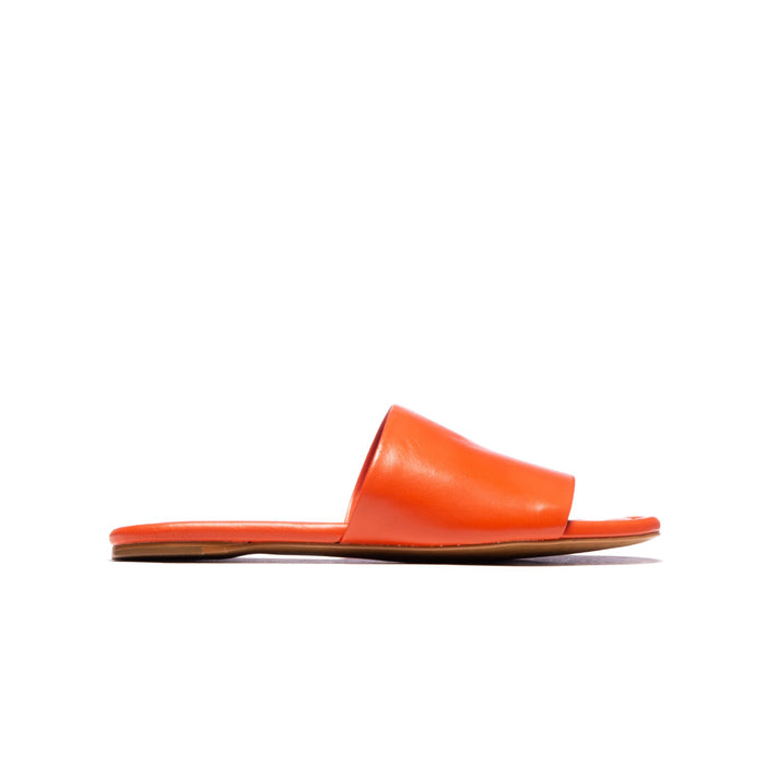 Lupe Orange Leather