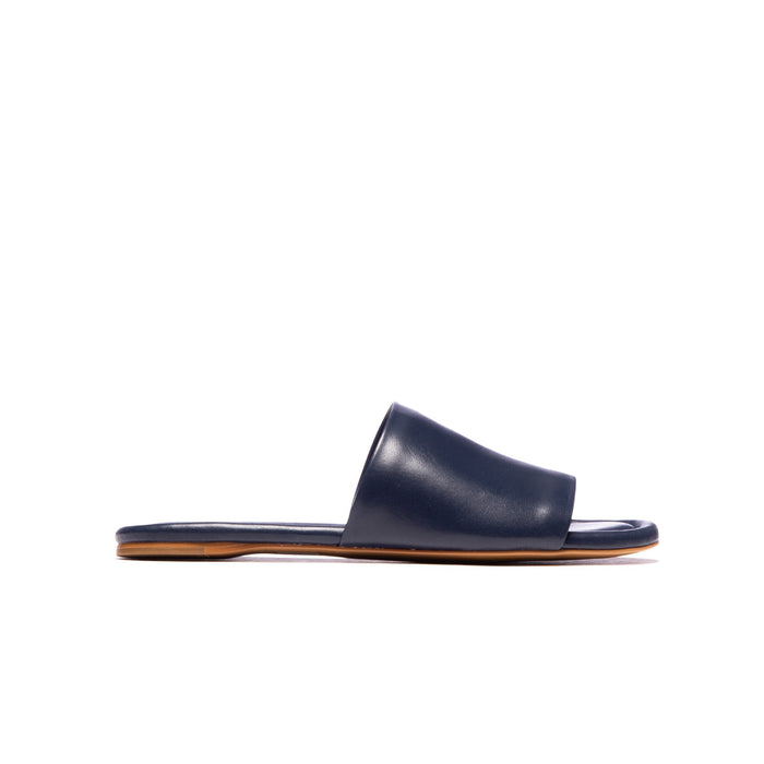 Lupe Navy Leather