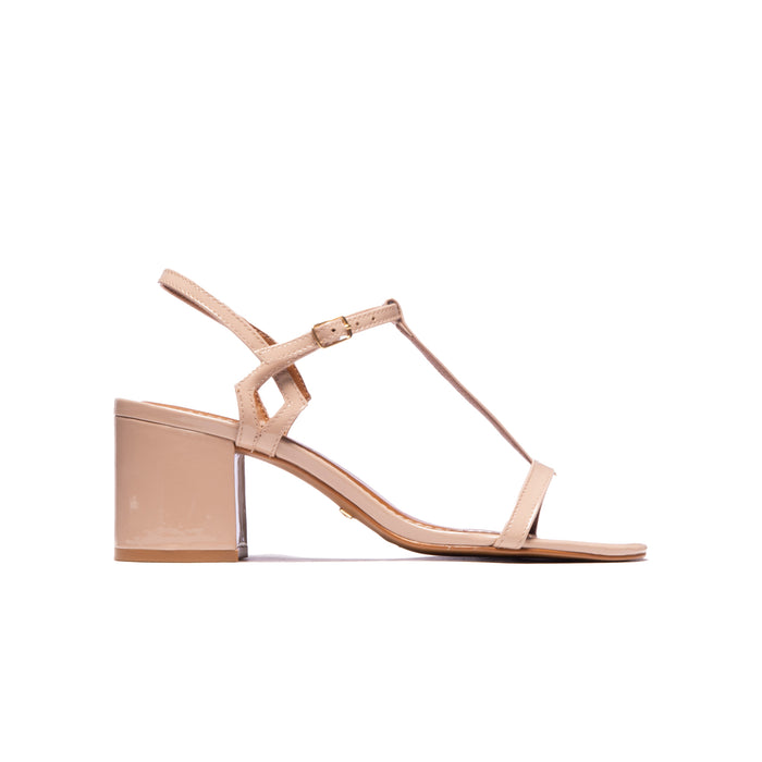 Carita Nude Patent Leather