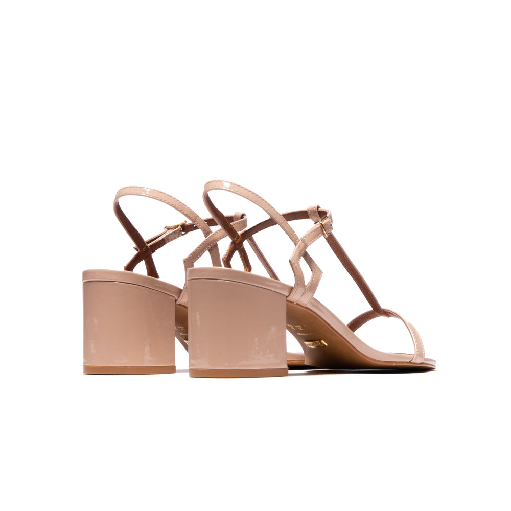 Load image into Gallery viewer, Carita Nude Patent Leather