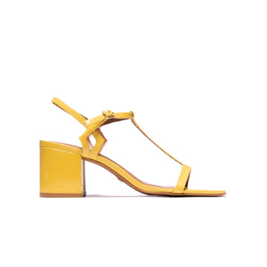 Carita Yellow Patent Leather