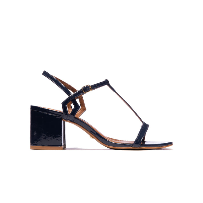 Carita Navy Patent Leather