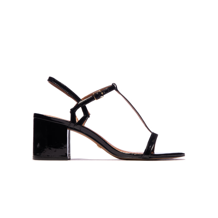 Carita Black Patent Leather