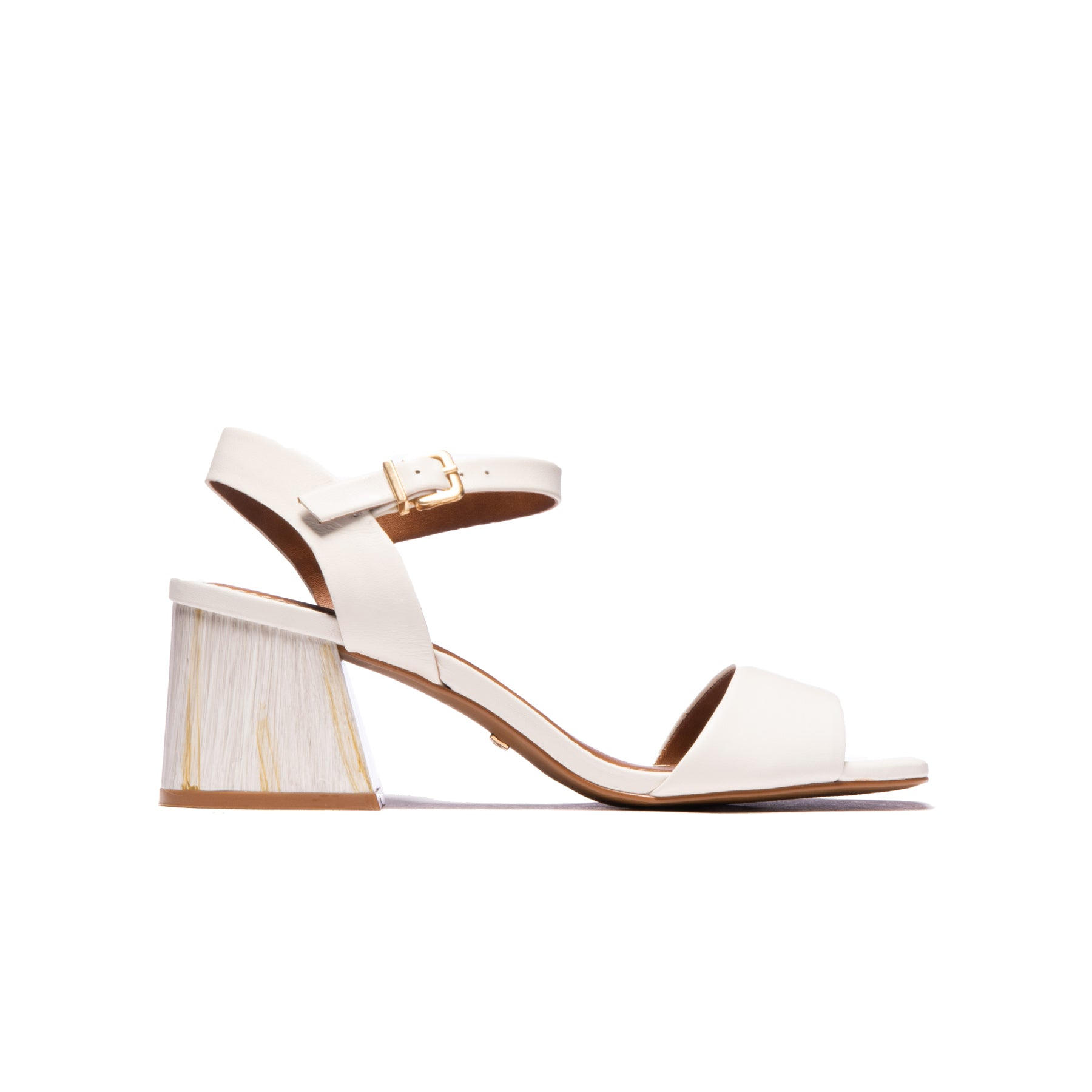 Cesaria White Leather