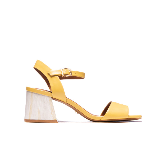 Cesaria Yellow Leather
