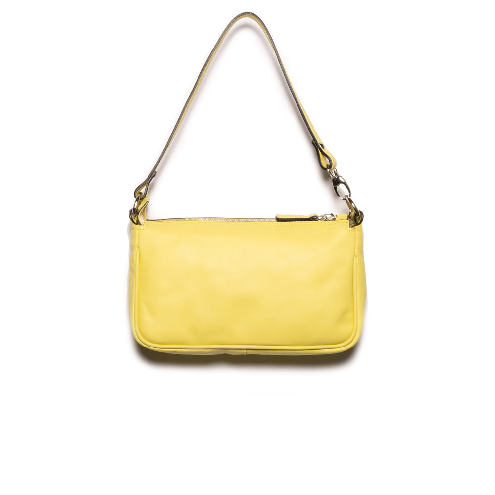 Load image into Gallery viewer, Mima Neon Yellow Leather