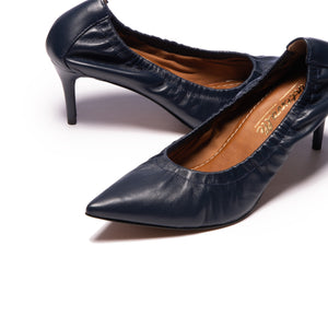 Bethy Navy Leather
