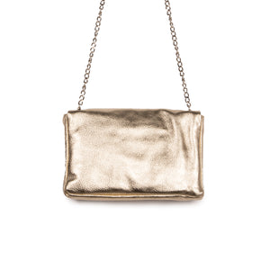 Load image into Gallery viewer, Serene Gold Metallic Leather