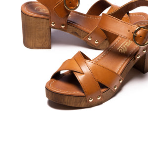Damali Tan Leather
