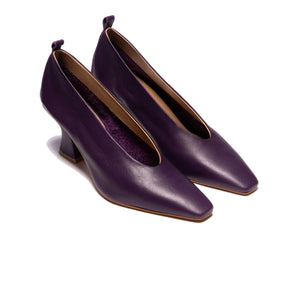 Load image into Gallery viewer, Philipa Purple Leather
