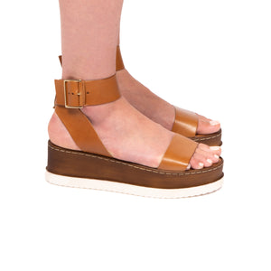 Oceana Tan Leather