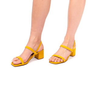 Load image into Gallery viewer, Vale Yellow Suede