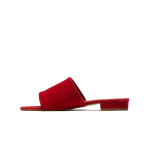 Load image into Gallery viewer, Katana Deep Red Suede
