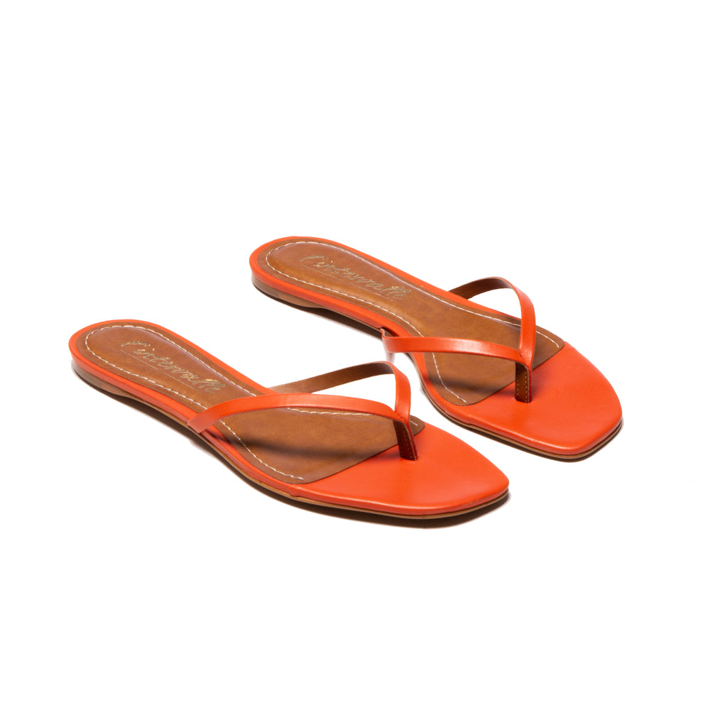 Lilo Orange Leather