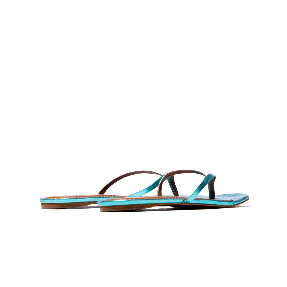 Lilo Crack Turquoise Leather