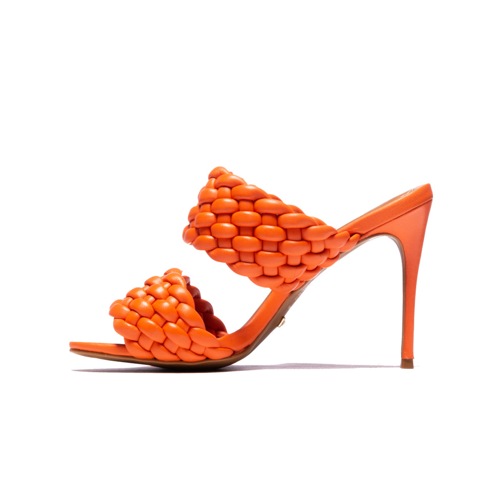 Rapunzel Orange Leather