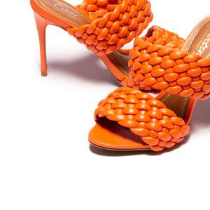 Load image into Gallery viewer, Rapunzel Orange Leather