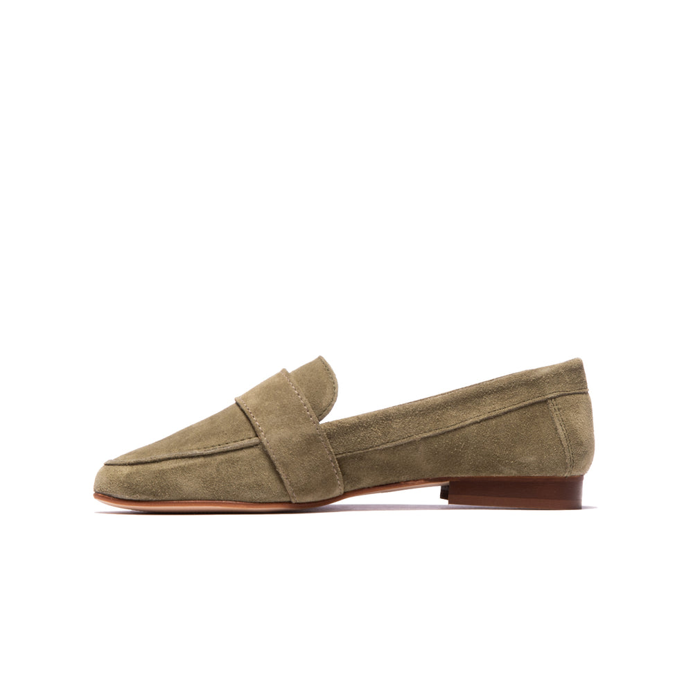 Andrea Olive Suede