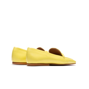 Load image into Gallery viewer, Malia Yellow Leather