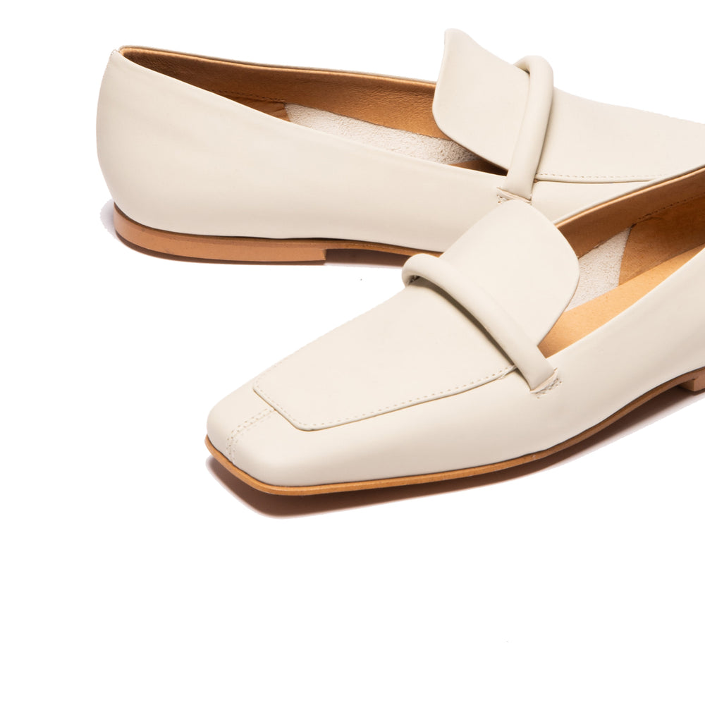 Malia Cream Leather