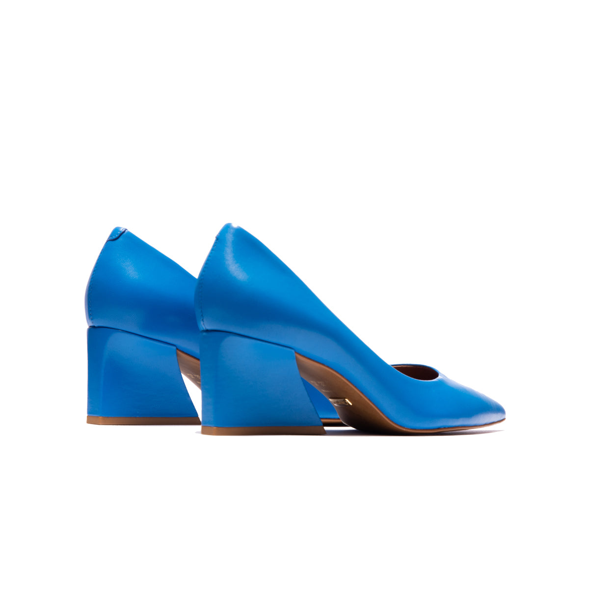 Enrica Blue Leather