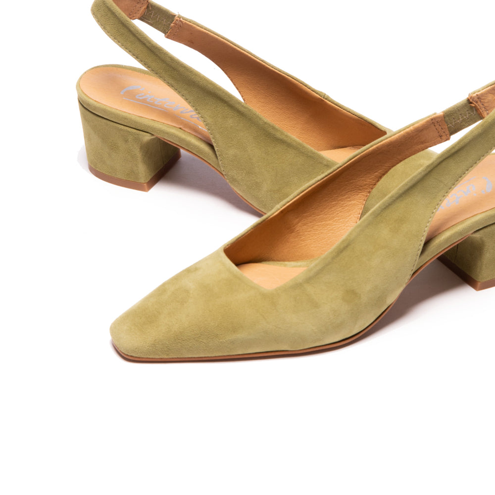 Rosemary Green Suede