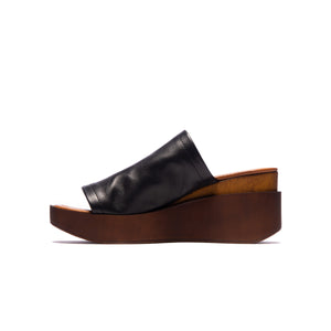 Ophelia Black Leather