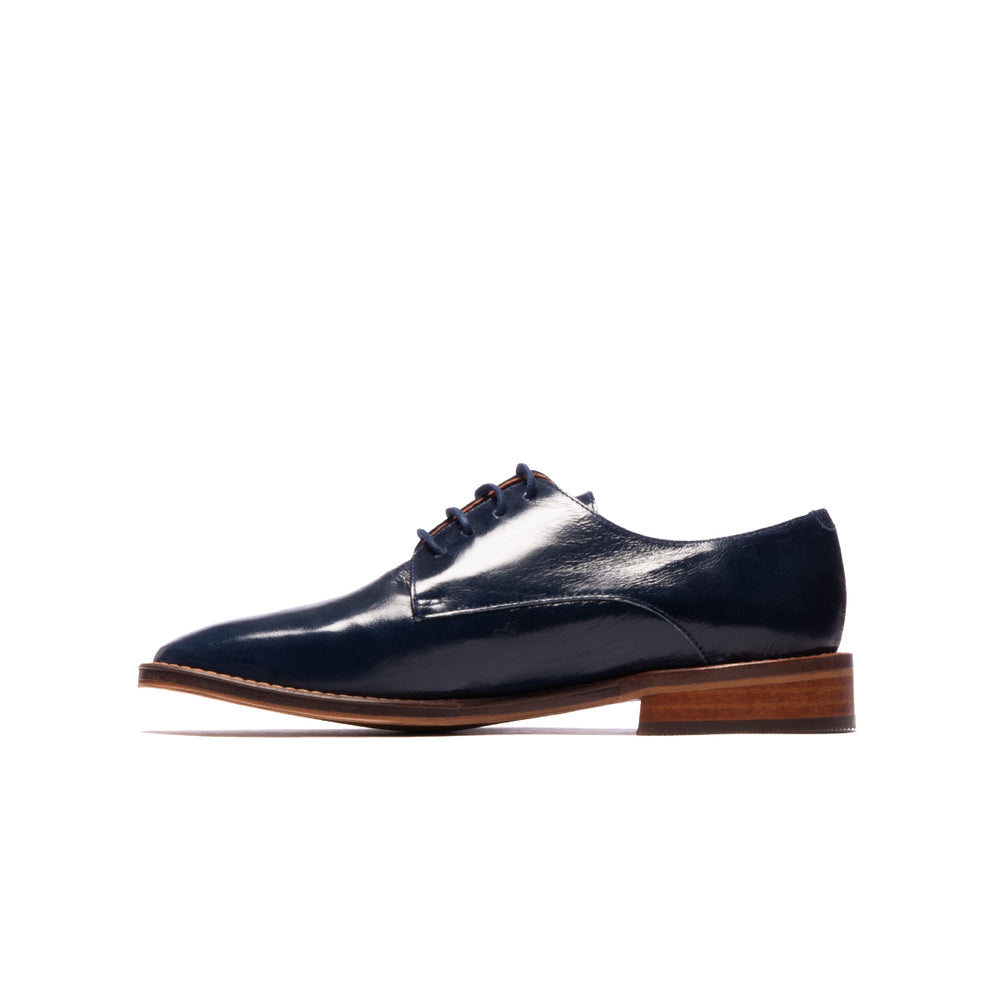 Load image into Gallery viewer, Ronan Navy Leather