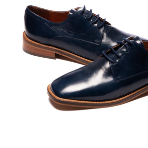 Ronan Navy Leather