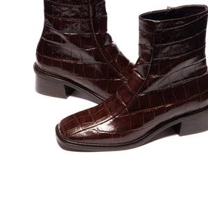 Gilgen Brown Croco