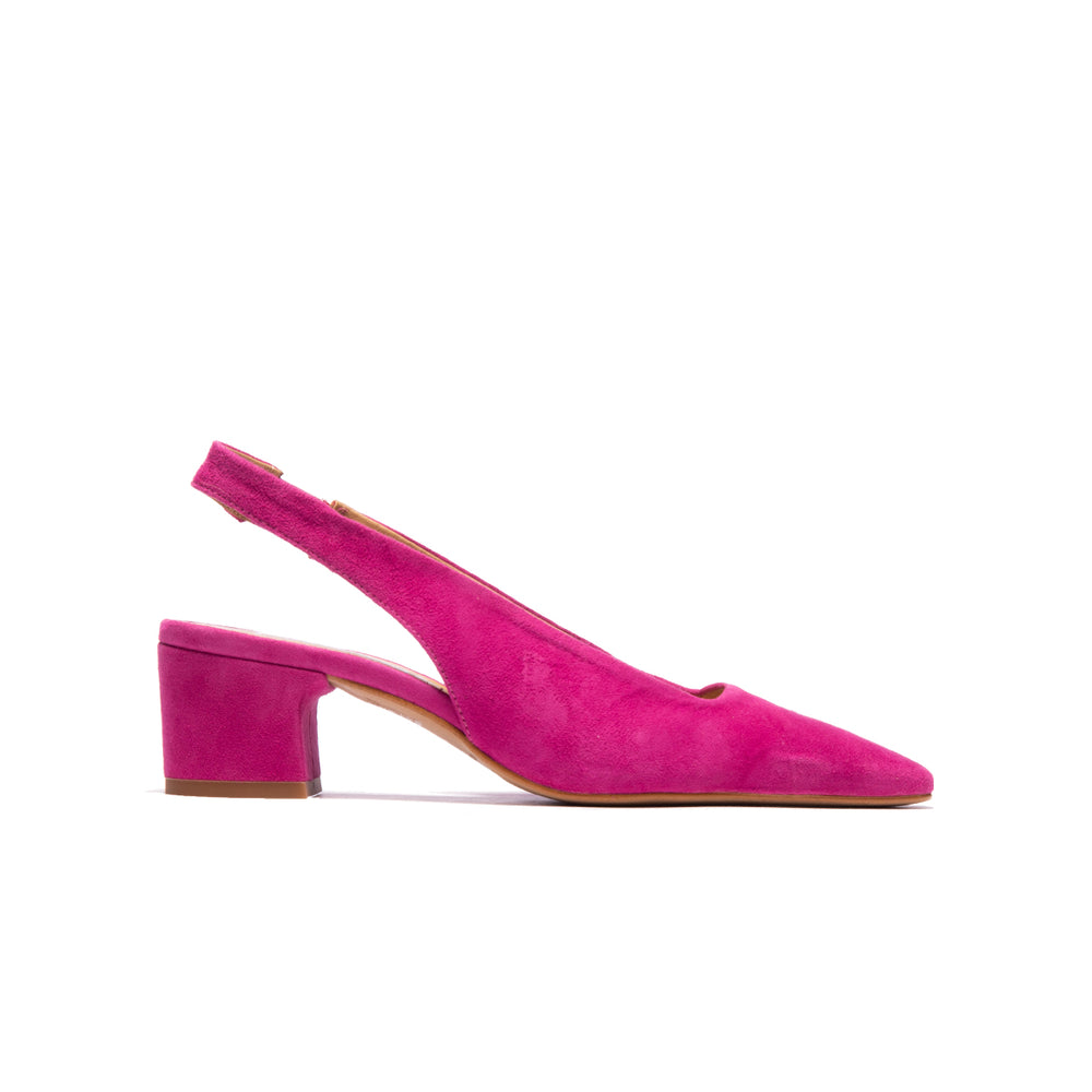 Rosemary Pink Suede