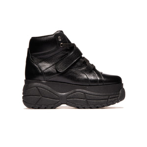 Lander Black Leather