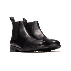 Percy Black Leather
