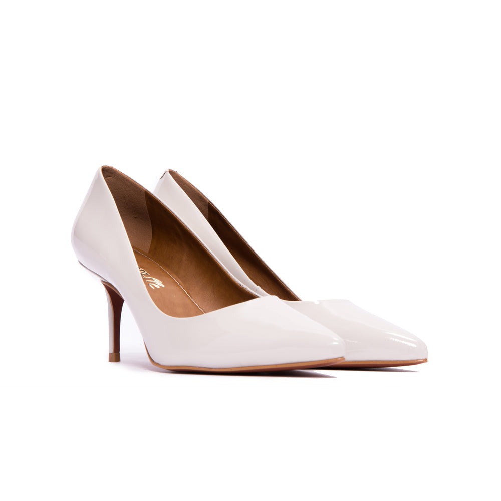 Antonia Light Grey Patent