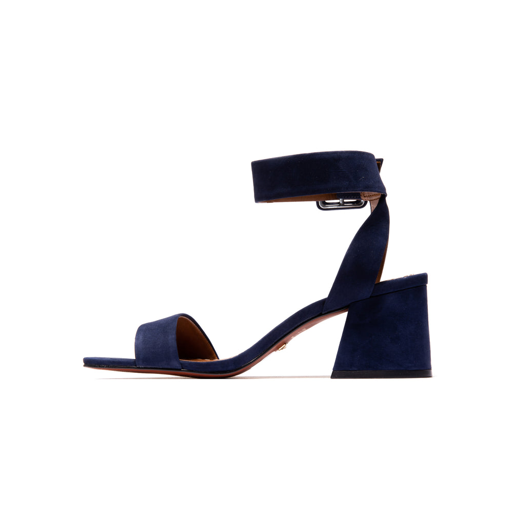 Load image into Gallery viewer, Aubrey Navy Nubuck