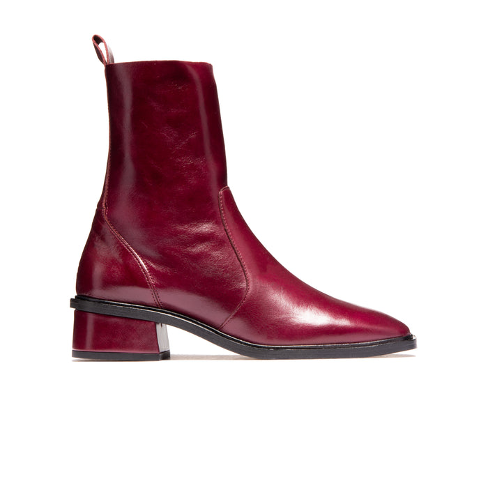 Brixton Bordeaux Leather