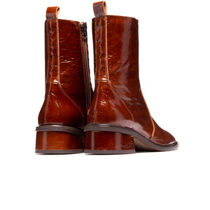 Brixton Chestnut Leather