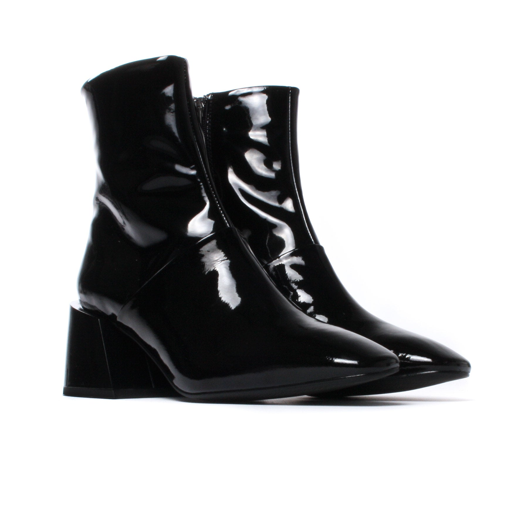 Moresby Black Patent Leather