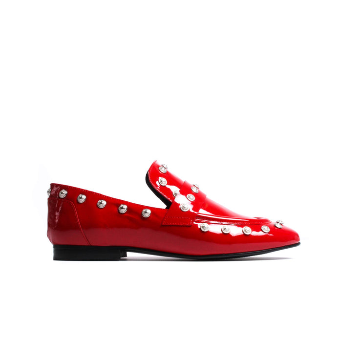 Chispas Red Patent Leather
