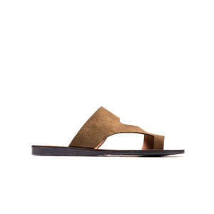 Chetina Brown Suede