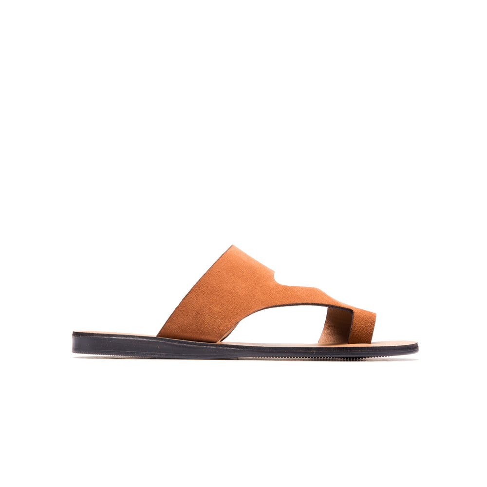 Chetina Rust Suede