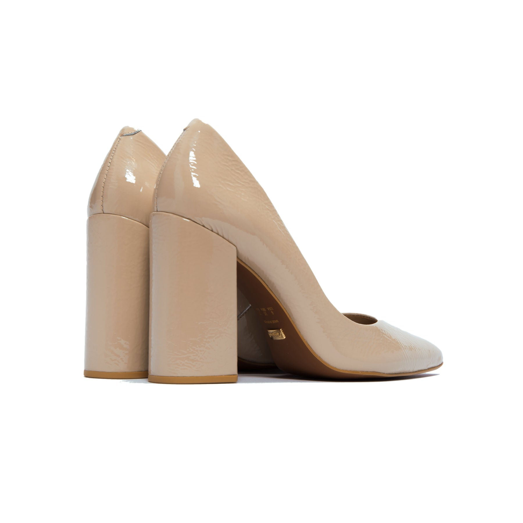 Ciana Nude Naplack Pumps