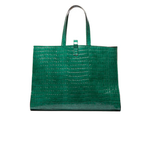 Load image into Gallery viewer, Cocco Green Croco Bags