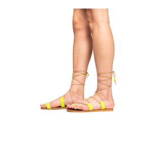 Cupcake Yellow Suede