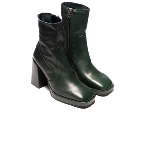 Duffy Green Leather